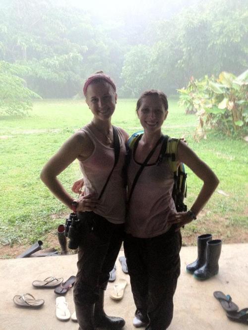 Arrianne and Jessica Ritsche, DANTA Field Course Summer 2012