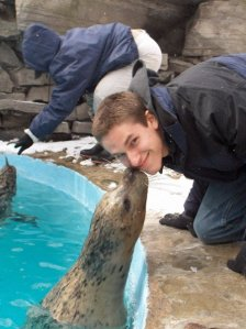 seal nuzzle