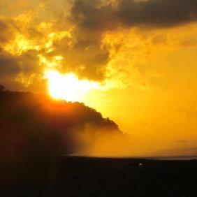 Sunset on Piro Beach