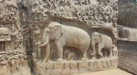 The Descent of the Ganges Monument at Mahabalipuram