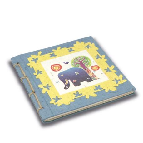 twine-journal-elephant-sunrise-batik-blue